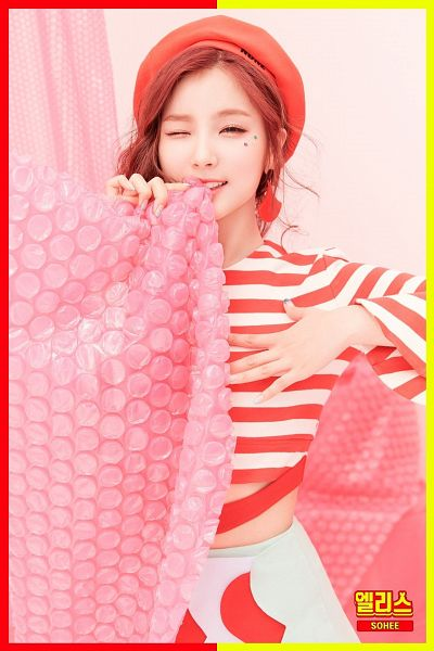Tags: Hunus Entertainment, K-Pop, Elris, Kim Sohee (Elris), Text: Artist Name, Korean Text, Color Crush