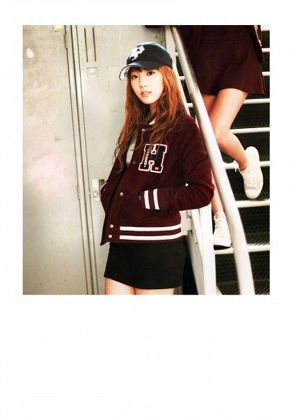 Tags: Girls' Generation, Kim Tae-yeon, Skirt, Baseball Jersey, Black Skirt, Hand In Pocket, Baseball Cap, Android/iPhone Wallpaper