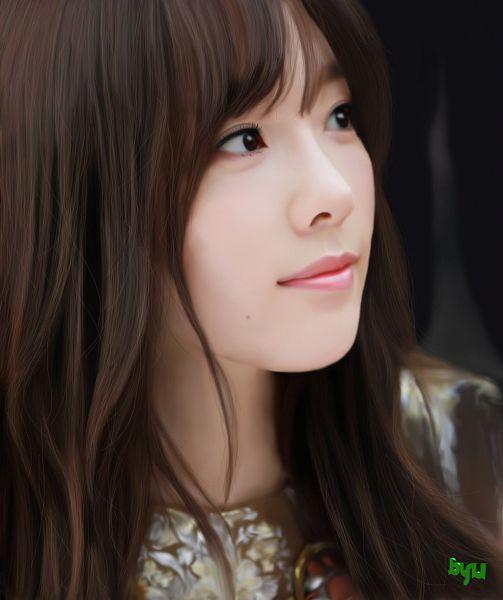 Tags: K-Pop, Girls' Generation, Kim Tae-yeon, Looking Up, Fanart