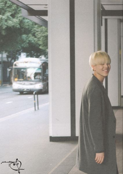 Tags: K-Pop, Got7, Kim Yugyeom, Bus, Gray Outerwear, Gray Jacket, GOTCHA 2 Photobook, Scan