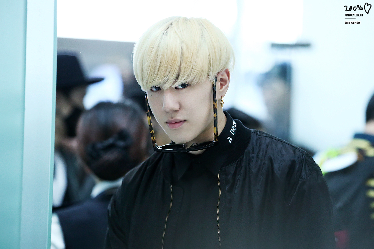 Pictures of Got7 Yugyeom Blonde Hair - #rock-cafe