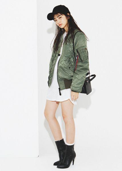 Tags: Dorama, Komatsu Nana, High Heels, White Outfit, Hat, Light Background, Green Outerwear, Boots, High Heeled Boots, White Background, Black Footwear, White Dress