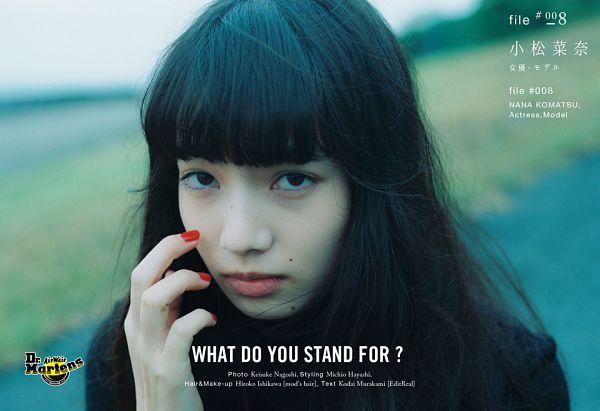 Tags: Dorama, Komatsu Nana, Nail Polish, Make Up, Close Up, Japanese Text, Houyhnhnm