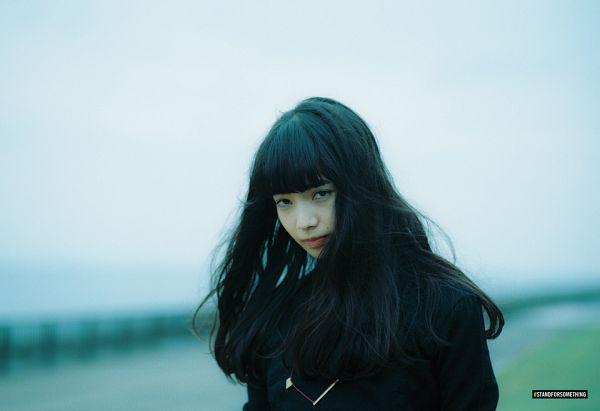 Tags: Dorama, Komatsu Nana, Black Outerwear, Close Up, Houyhnhnm