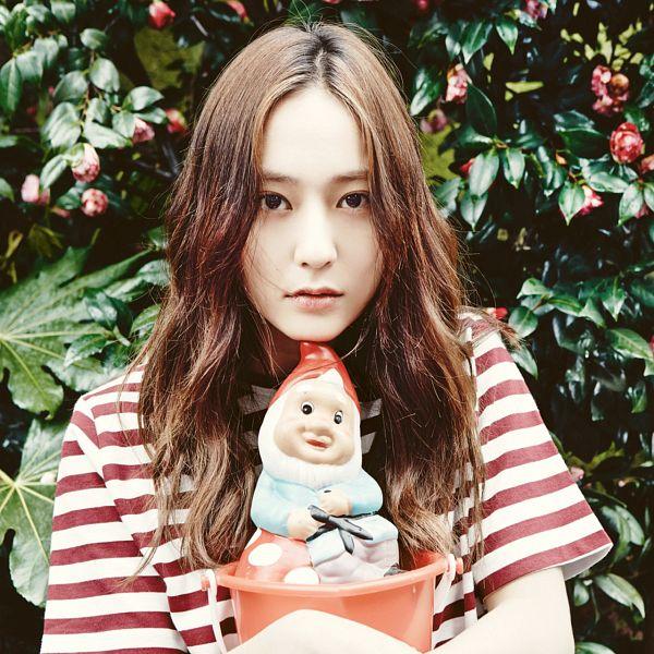 Tags: K-Pop, f(x), Krystal Jung, Striped Shirt, Oh Boy!