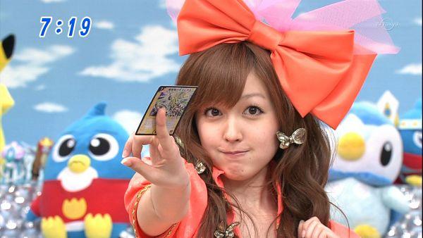 Tags: Television Show, J-Pop, Kusumi Koharu, Bow, Card, Wallpaper