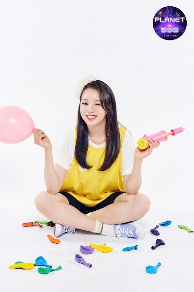 Tags: J-Pop, Kuwahara Ayana, Balloons, Girls Planet 999