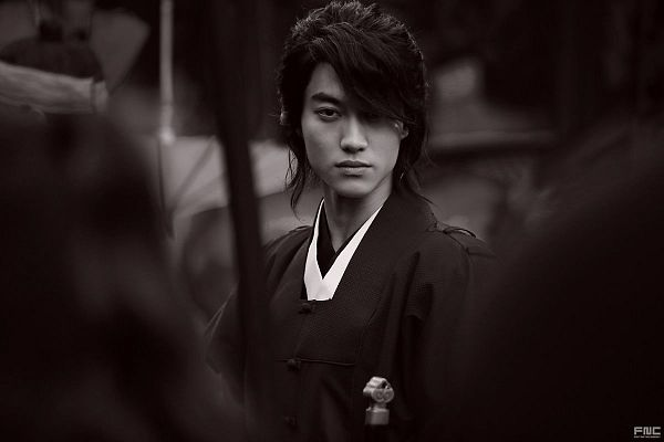 Tags: K-Drama, Kwak Dong-yeon, Traditional Clothes, Korean Clothes, Weapons, Peek-a-boo Bang, Sword, Monochrome, Moonlight Drawn by Clouds