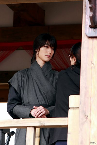 Tags: K-Drama, Kwak Dong-yeon, Ponytail, Korean Clothes, Standing, Long Sleeves