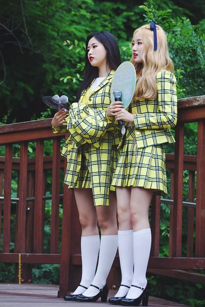 Tags: K-Pop, LOOΠΔ, Olivia Hye, Go Won