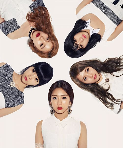 Tags: K-Pop, Ladies Code, So Wonderful, Lee So-jung, RiSe, Ashley, EunB, Zuny, Light Background, White Background, Full Group, Red Lips