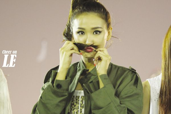 Tags: K-Pop, EXID, Le, Hair Up, Ponytail, Cute, Wallpaper