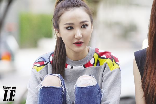 Tags: K-Pop, EXID, Le, Hair Up, Ponytail, Wallpaper