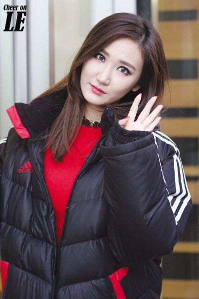 Tags: K-Pop, EXID, Le, Red Shirt, Android/iPhone Wallpaper