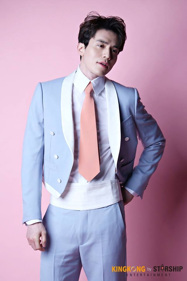 Tags: K-Drama, Lee Dong-wook, Pink Background, Suit