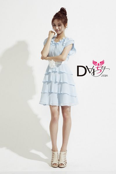 Tags: K-Pop, Girls' Day, Lee Hyeri, Blue Outfit, Sexy Pose, Cute, Suggestive, Blue Dress, Android/iPhone Wallpaper