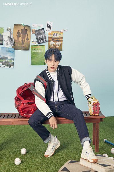 Tags: K-Pop, Monsta X, Lee Min-hyuk (Monsta X), Baseball