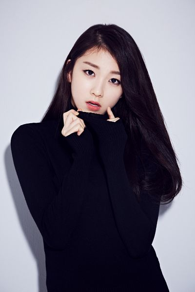 Tags: K-Pop, The Ark, Lee Suji, Gray Background, Black Shirt, Android/iPhone Wallpaper, Somebody 4 Life