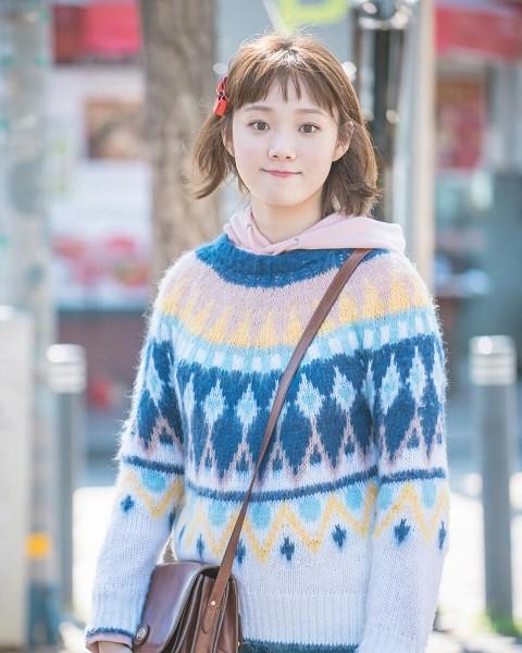 Tags: K-Drama, Lee Sung-kyung, Bangs, Weightlifting Fairy Kim Bok-joo