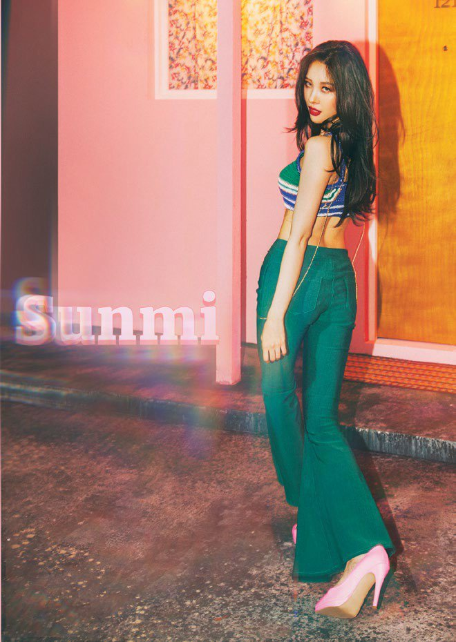 Tags: Wonder Girls, Lee Sunmi