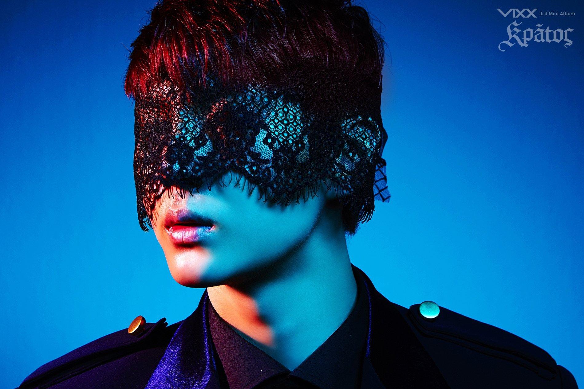 Tags K Pop VIXX Leo Eyes Closed Covering