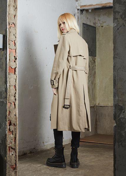 Tags: YG Entertainment, K-Pop, Black Pink, Lisa, Coat, Black Footwear, Boots, Black Pants, Blunt Bangs, Android/iPhone Wallpaper, NONA9ON