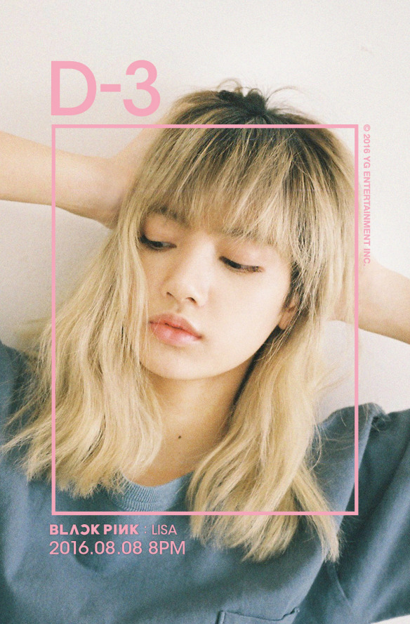 Tags: YG Entertainment, K-Pop, Black Pink, Lisa, Square One (Album)