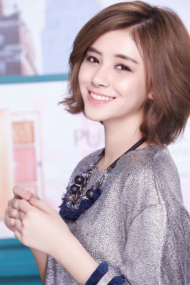 Tags: C-Pop, Popu Lady, Liu Yushan, Jewelry, Necklace, Short Hair