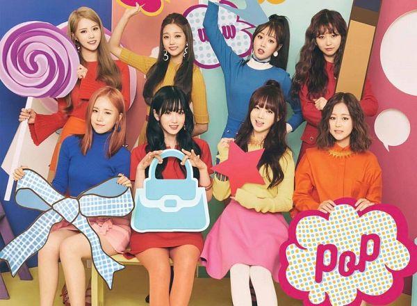 Tags: K-Pop, Lovelyz, Jung Yein, Lee Mijoo, Seo Jisoo, Baby Soul, Yoo Jiae, Kei, Ryu Sujeong, Jin (Lovelyz), Lollipop, Red Outfit
