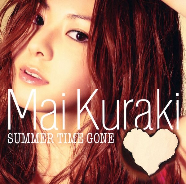 Tags: J-Pop, Mai Kuraki, Text: Album Name, English Text, Heart, Text: Artist Name, Close Up, Album Cover