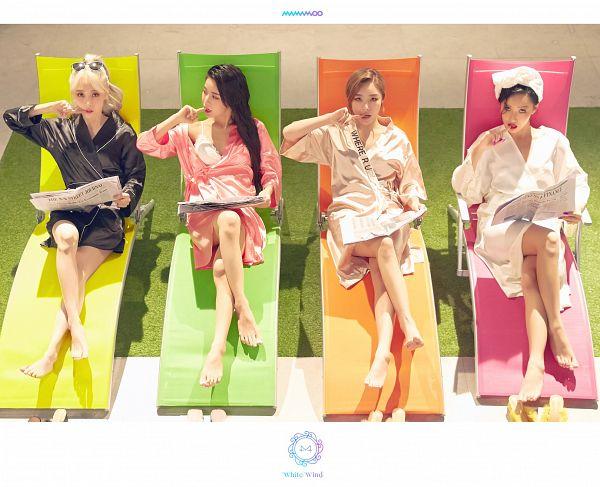 Tags: K-Pop, Mamamoo, gogobebe, Moonbyul, Solar, Hwasa, Wheein