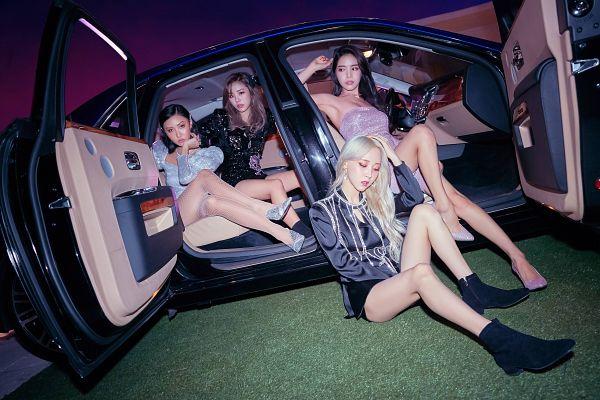 Tags: K-Pop, Mamamoo, gogobebe, Wheein, Moonbyul, Solar, Hwasa, Quartet, Four Girls, Full Group