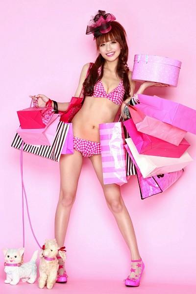 Tags: Maomi Yuuki, Hat, Gift, Bikini, Animal, Suggestive, Cleavage, High Heels