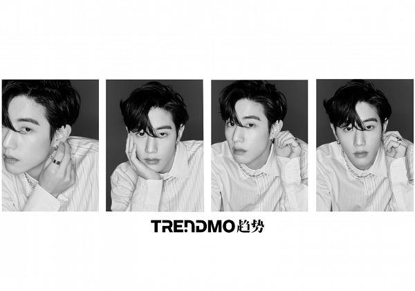 Tags: K-Pop, Got7, Mark, Monochrome, Multiple Persona, Trendmo, Magazine Scan