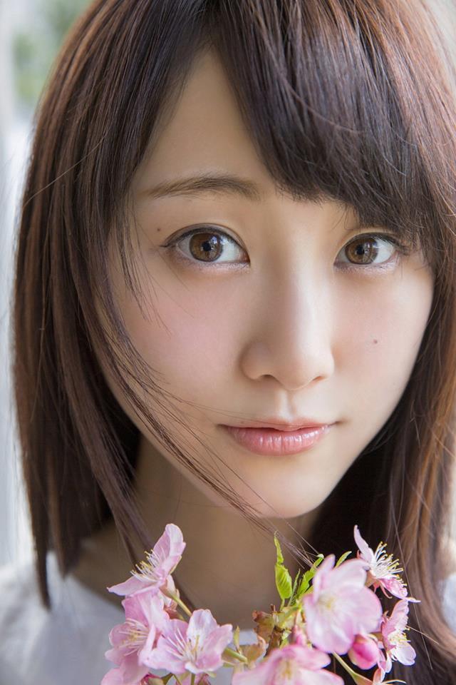 Tags: J-Pop, SKE48, AKB48, Matsui Rena, Cherry Blossom, Flower, Pink Flower, Bouquet, Close Up