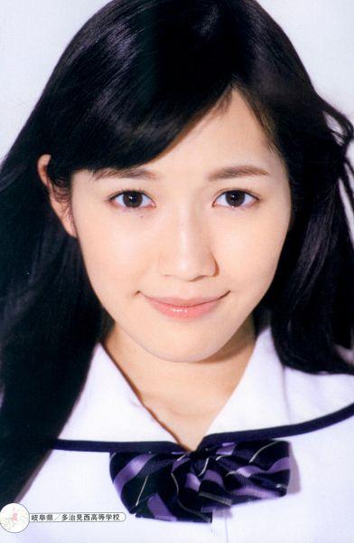 Tags: J-Pop, AKB48, Mayu Watanabe, Close Up, Sailor Collar, Bow Tie, Collar (Clothes), Android/iPhone Wallpaper, Seifuku Zukan Saigo no Seifuku Photobook, Scan