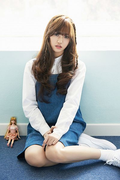 Tags: K-Pop, Oh My Girl, Mimi, Blue Skirt, Skirt, Android/iPhone Wallpaper