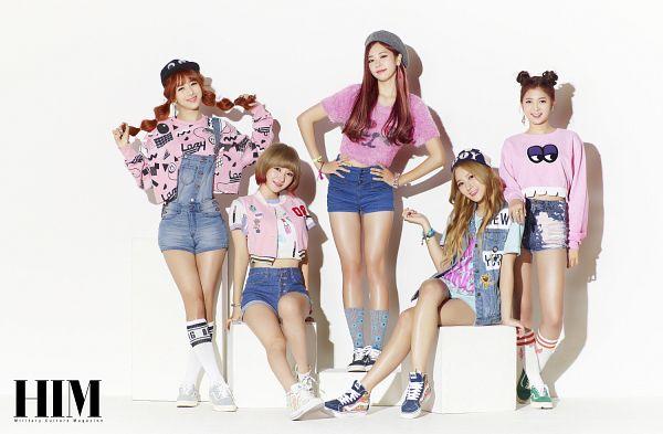 Tags: K-Pop, Minx, Dreamcatcher, Kim Yoohyeon, Lee Siyeon, Jiu, SuA, Dami
