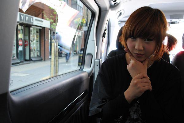 Tags: YG Entertainment, K-Pop, 2NE1, Minzy, Car, Wallpaper