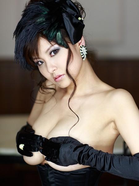 Tags: Miri Hanai, Hand On Chest, Big Breasts, Suggestive