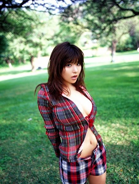 Tags: Gravure Idol, Miri Hanai, Big Breasts, Suggestive, Android/iPhone Wallpaper