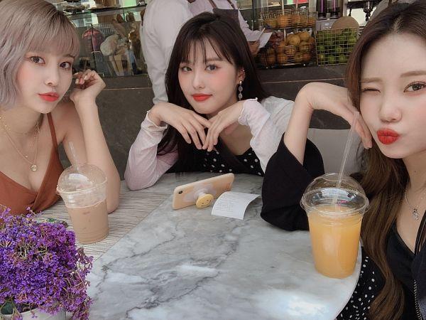 Tags: Momoland, Lee Ahin, JooE, Lee Hyebin