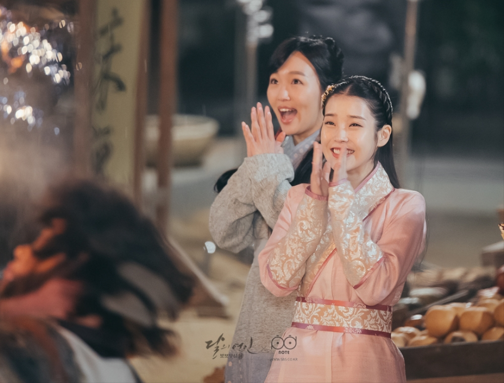 Image result for moon lovers stills iu
