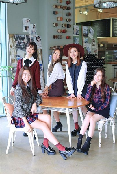 Tags: K-Pop, Berry Good, My First Love, Seoyul, Gowoon, Taeha, Kang Sehyung, Daye, Quintet, Full Group, Group, Five Girls
