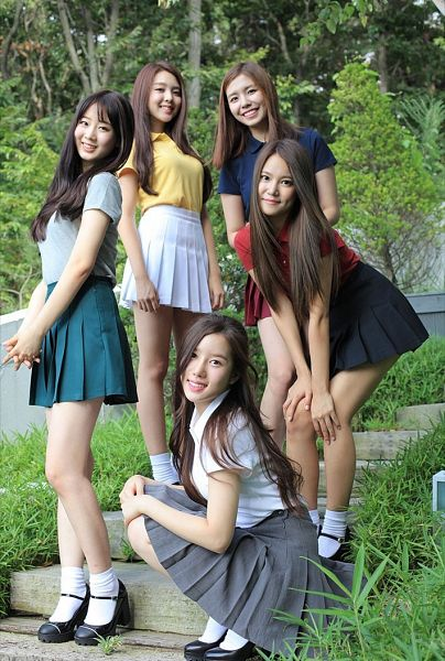Tags: K-Pop, Berry Good, My First Love, Taeha, Kang Sehyung, Daye, Seoyul, Gowoon, Quintet, Full Group, Group, Five Girls