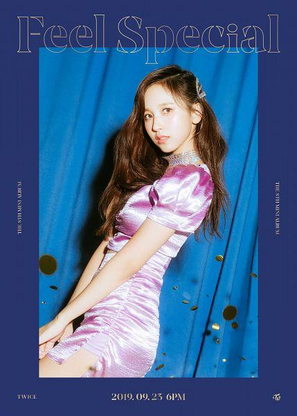 Tags: K-Pop, Twice, Myoui Mina, Text: Album Name, Text: Calendar Date, English Text, Text: Artist Name, Twitter, Feel Special