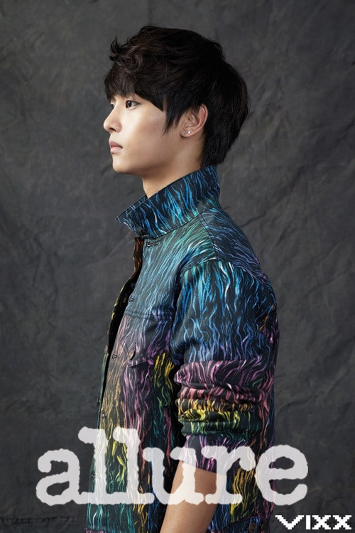 Tags: K-Pop, VIXX, N (singer), Text: Artist Name, Text: Magazine Name, Allure