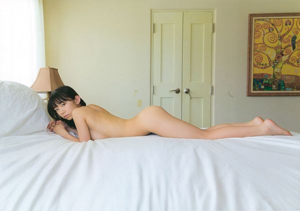 Tags: Gravure Idol, J-Pop, Houkago Princess, Nagasawa Marina, Suggestive, Nude, Bed