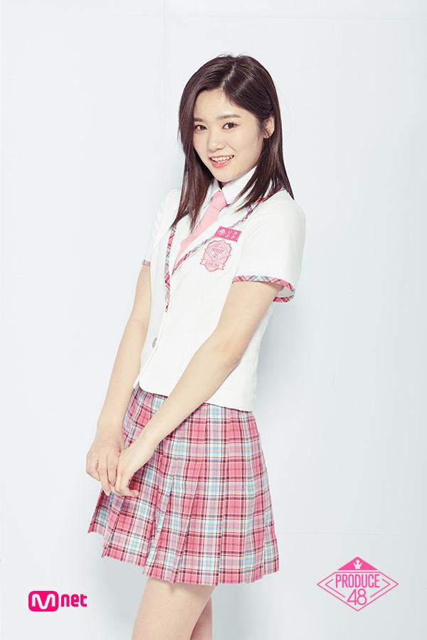 Tags: J-Pop, Television Show, AKB48, Nakano Ikumi, Korean Text, Text: Series Name, Holding Hands, Text: Artist Name, Skirt, Collar (Clothes), Pink Neckwear, Close Up