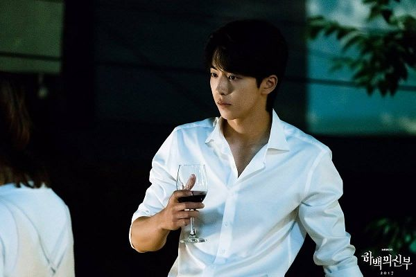 Tags: K-Drama, Nam Joo-hyuk, Wine, Glass (Cup), Cup, Wine Glass, Alcohol, Bride Of The Water God
